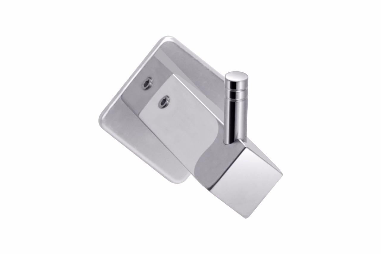 GARBNOIRE Rhombus Series Chrome Plated Robe Hook/Towel Hook/Clothes Hook/Utensils Hook for Bathroom/Kitchen/Hotels/Garage