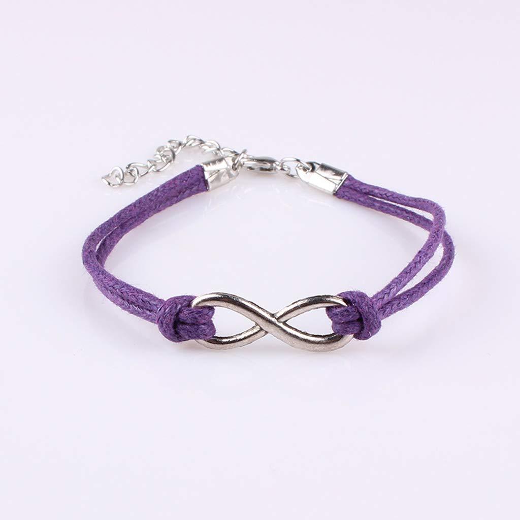 apportez Chanceux et succ/ès Bracelet de Mode Charme SimpleLife Bracelet Fait /à la Main cha/îne Rouge Ficelle Taille r/églable
