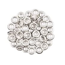 "Fiskars Crafts Tag Maker 3/16"" Silver Eyelets, 50 Pack"