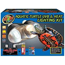Zoo Med Aquatic Turtle UVB Heat Lighting Kit