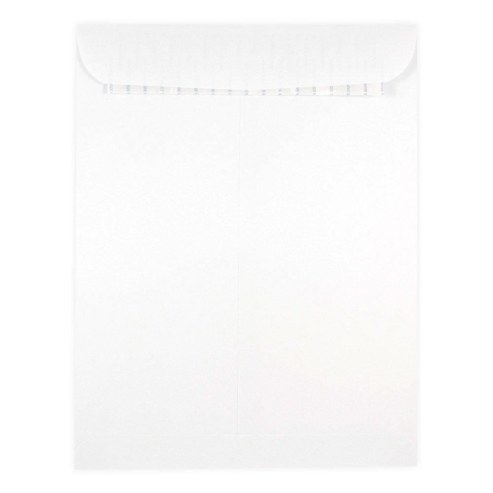 JAM PAPER 7 1/2 x 10 1/2 Open End Catalog Commercial Envelopes - Clear - Bulk 500/Box JAM Paper & Envelope