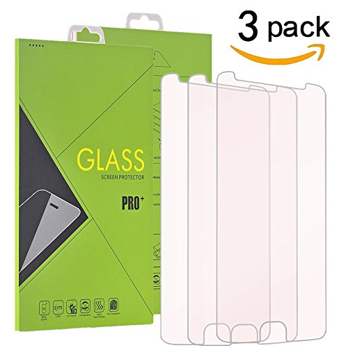 [3 Pack ]Motorola Moto E4 Tempered Glass Screen Protector, TOPBN Screen Protector Scratch Resistant , Ultra Clear & Ultra Slim [NOT Fit for Moto E4 Plus] Slim [NOT Fit for Moto E4 Plus] (3 Pack-Clear)