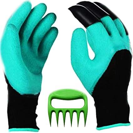 Amazon.com: Scuddles - Par de guantes de jardín con garras ...