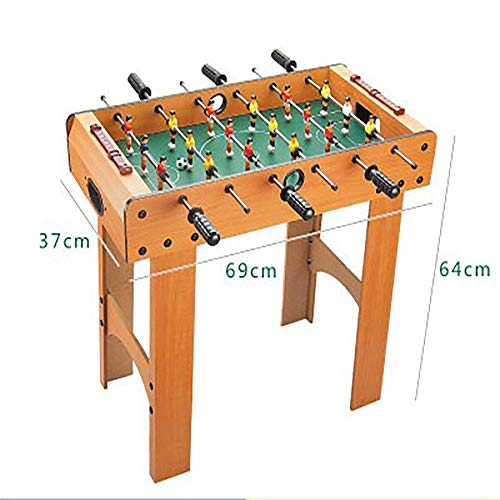 NICOLAS Table Football Machine, Soccer Table, Board Game Toy, Table Football, Table Football Table (Color : Extra Large six-bar Height)