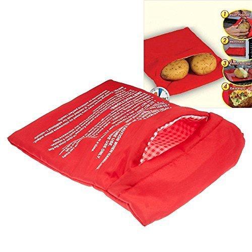 Bolsa roja para Cocina, Lavable, horneado, Patata, asado, Estilo ...