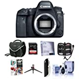 Canon EOS 6D Mark II DSLR Body - Bundle 32GB SDHC U3 Card, Camera Case, Screen Protector, Table Top Tripod, Cleaning Kit, Card Reader, Memory Wallet, Software Package