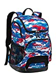 Speedo Large Teamster Backpack, Digi Camo-R/W/B, 35-Liter