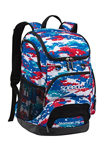 (Speedo Printed Teamster 35L Backpack, Digi Camo-R/W/B, 1SZ)