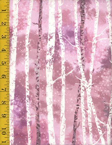 Rose Mckennas (Cotton Quilt Fabric - Robert Kaufman Sugar Plum by McKenna Ryan: Forest - Rose AYC-15903-97)
