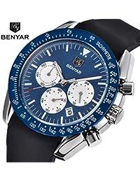 Mens' Watches Chronograph Sport Watch Waterproof Date...