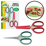 Baby Food Scissors with Covers - Set of 2 Shears to Make Every Bite Baby Sized