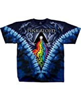 Pink Floyd Prism River Tiedye Mens T-shirt