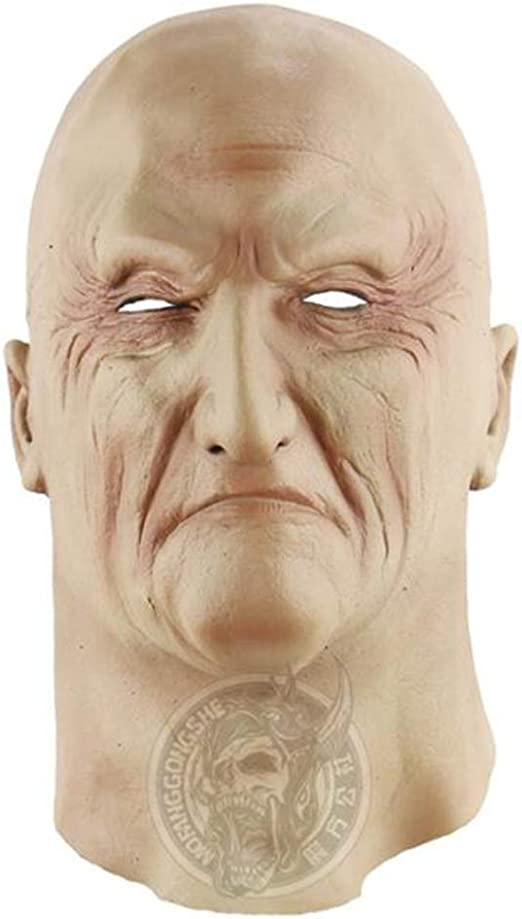 Blueqier Máscara de Disfraz de Halloween de Triad Boss, máscara ...