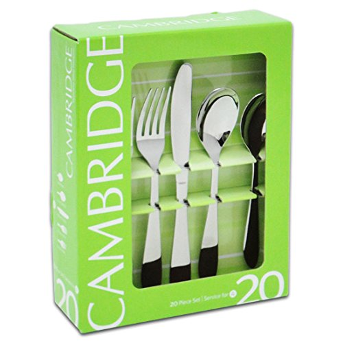 Flatware Set - 20pc Apex Mirror By Cambridge