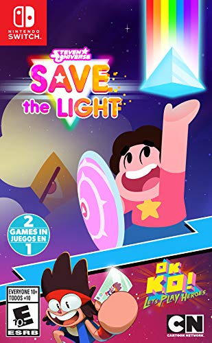 Steven Universe: Save The Light & OK K.O.! Let's Play Heroes - Nintendo Switch (Steven Universe Save The Light Nintendo Switch)