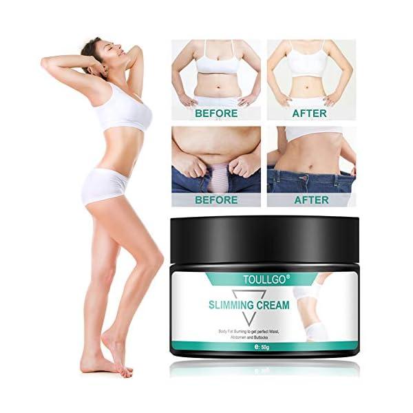 Slimming Cream, Hot Cream, Fat Burning Cream, Best Weight Loss Cream, Slimming Tightening Cream for Shaping Waist, Abdomen and Buttocks, 50g 51iMIWkr0fL