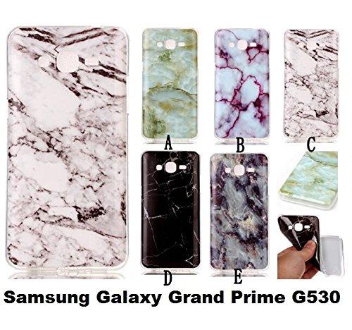 Samsung Galaxy Grand Prime/G530patrón de ultra slim TPU silicona transparente, protección móvil móvil resistente al transparente espejo Teléfono Móvil Funda Bumper Samsung Galaxy Grand Prime/G530de  5