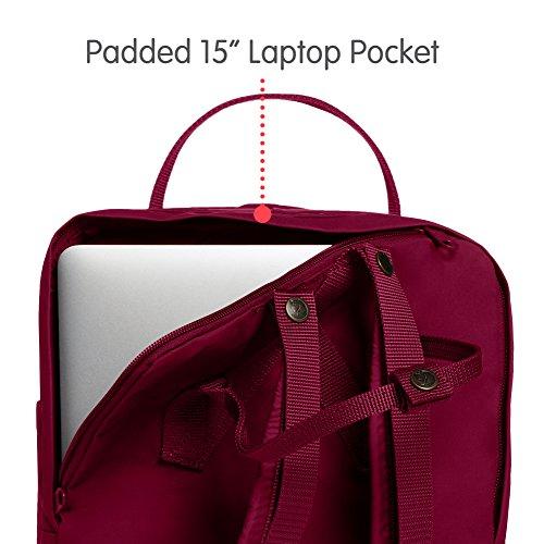 Fjallraven – Kanken Laptop 15 Backpack for Everyday