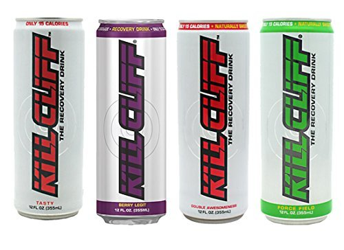 Kill Cliff Variety Pack 16 - 12 oz Cans by Kill Cliff by Kill Cliff