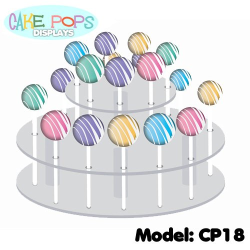 Cake Pops Acrylic Display Stand ()