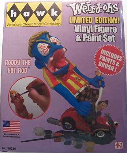 Weird-ohs Roddy the Hot Rod Vinyl Figure & Paint Set No. 16219 Limited Edition