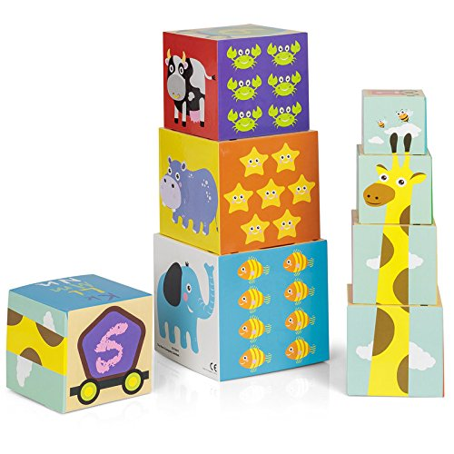 Tobar 27929 Stack and Learn Cubes
