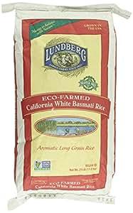Amazon.com : Lundberg Basmati Rice, California White, 25