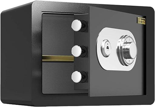 GYH Cajas fuertes Cajas Fuertes, Gabinete de Entrada A La Pared Del Hogar Caja Fuerte Mecánica de Contraseña con Llave Mini Caja de Efectivo de Gran Capacidad 25x25x35cm (Color : Style3): Amazon.es: