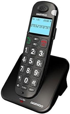 Daewoo DTD 7100 B - Teléfono Fijo: Amazon.es: Electrónica