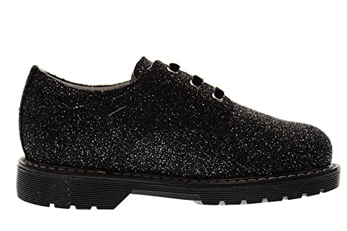 23 Junior Noir Chaussures 26 100 NERO ARGENT NOIR GIARDINI lacées A722550F Argent wq5nnWH8C