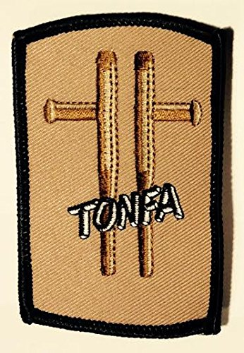 Tonfa Martial Arts Patch