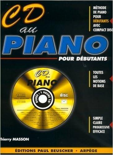 Livre Partition : CD au piano par T. Masson pdf, epub