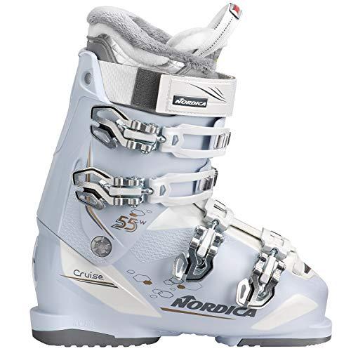 Nordica Cruise 55W Ski Boot 2019 - Women's Ice/White/Bronze 26.5