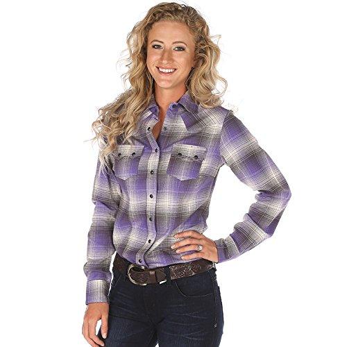 Cruel Girl Women's Plaid Long Sleeve Shirt