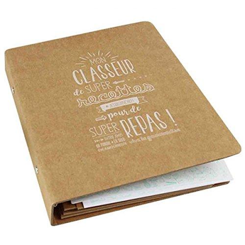 Youdoit DIY gift box - my cooking recipe binder (in (Diy Recipe Binder)