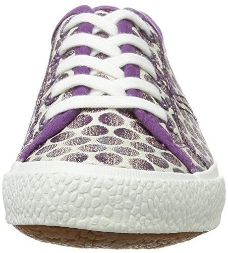 Tamaris 23610, Sneakers Basses Femme Violet (WHT/LAVEN.DOTS 152)