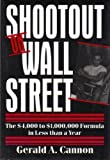 Shootout on Wall Street, Gerald A. Cannon, 0533104831