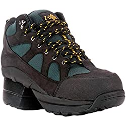 Z-CoiL Pain Relief Footwear Men's Outback Hiker Composite Toe Black Boots