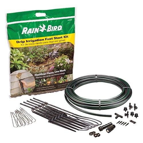 """Rain Bird STARTKTCS Drip Irrigation Fast Start Kit, 1/2"""" Tub"""
