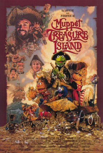 Muppet Treasure Island Movie Poster - Style A