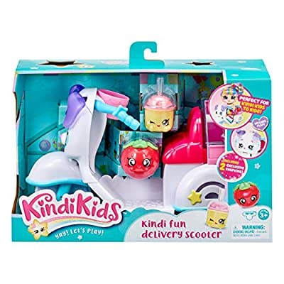 Kindi Kids Fun Delivery Scooter and 2 Shopkins: Toys & Games