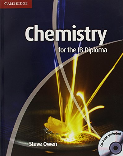 Chemistry for the IB Diploma Coursebook with CD-ROM