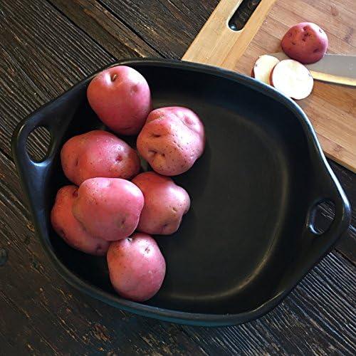 Ancient Cookware, Square Roasting Chamba Pan, Medium