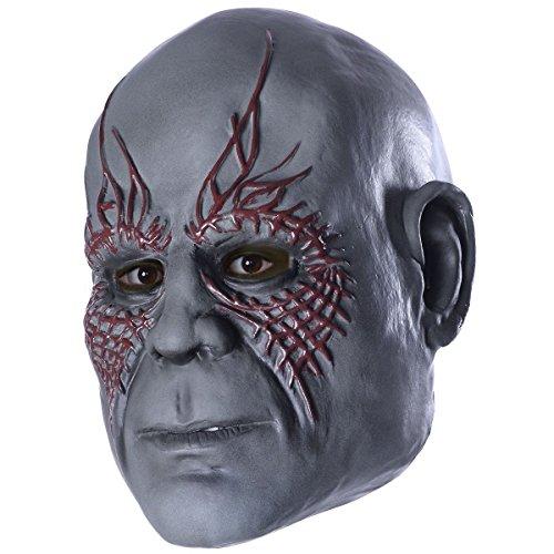 Mens Drax Costume (3/4 Drax Mask Costume Accessory)