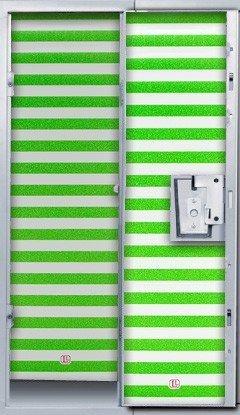 LockerLookz Locker Wallpaper - Green Stripe - 24 pieces by Darice