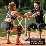 Mava Sports Knee Compression Sleeve Support, Pair