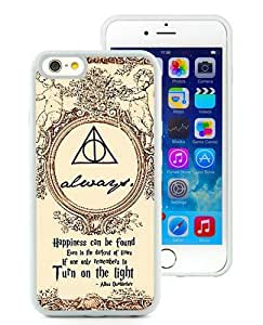 Hot Sale iPhone 6/iPhone 6S 4.7 Inch TPU Case ,Harry Potter White iPhone 6/iPhone 6S Cover Unique And High Quality Designed Phone Case
