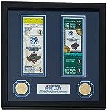 "MLB Toronto Blue Jays World Series Ticket Collection, 17 "" x 14"" x 3"", Black"