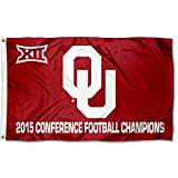 OU Sooners 2015 Big 12 Champs Flag Review