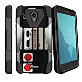 MINITURTLE Kickstand Case Compatible with Alcatel Verso/CameoX/Raven/Fiji [Vertical and Horizontal Stand] [Reinforced Drop Protection] Hard PC Kickstand Shell – Game Controller Review